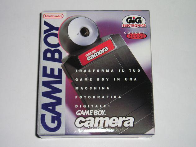 Game boy camera nintendo boxata nuova da collezione !!!!!