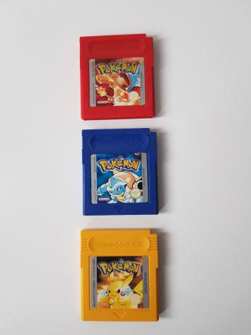 Giochi pokemon gameboy nintendo