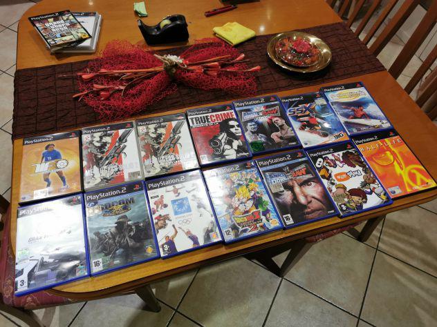Lotto 14 giochi play station 2 ps2 a scelta o in blocco