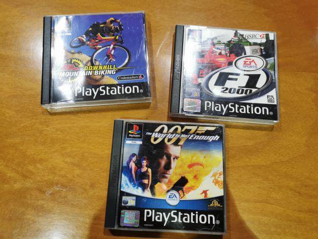 Lotto 3 giochi play station ps1 a scelta o in blocco