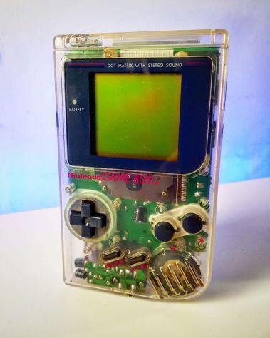 Nintendo gameboy clear version trasparente