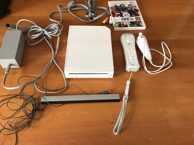 Nintendo wii + accessori + giochi