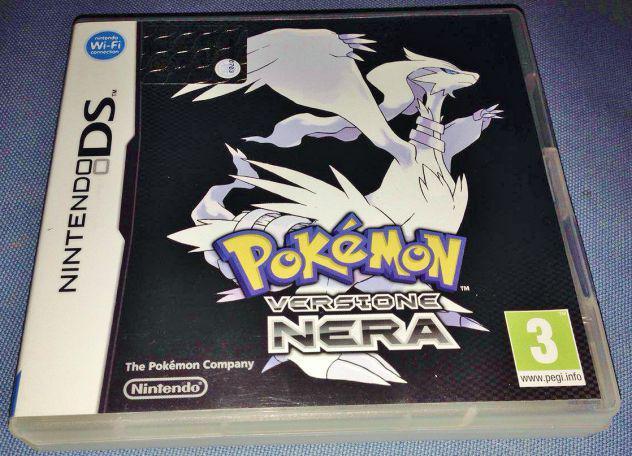 Pokemon nero gioco versione nera per nintendo ds 3ds