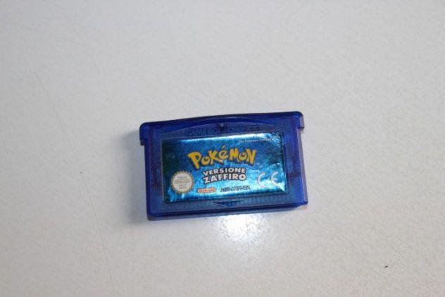 Pokémon versione zaffiro italiano nintendo gameboy advance