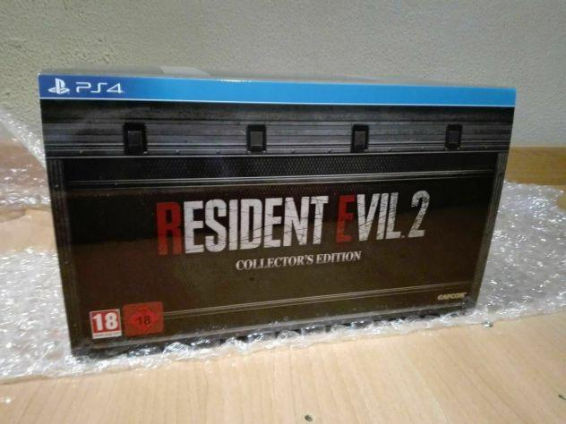 Resident evil 2 remake limited collector edition ps4
