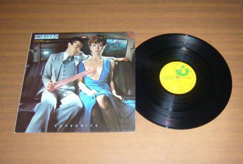 "Scorpions love drive rist. germany fame 1979 ex ex - lp 33"""
