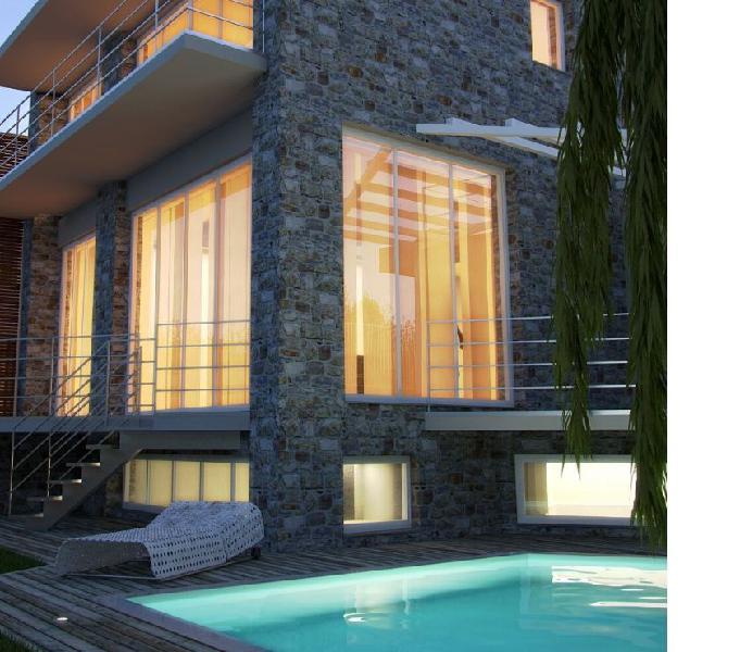 Antignano villa di nuova costruzione vista mare