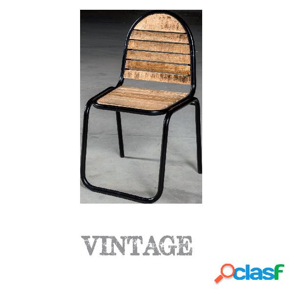 Sedie metallo vintage 【 OFFERTES Dicembre 】 | Clasf