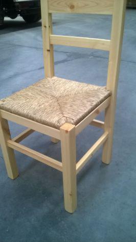 Arredamenti casa di montagnasedia anita seduta in legno pino