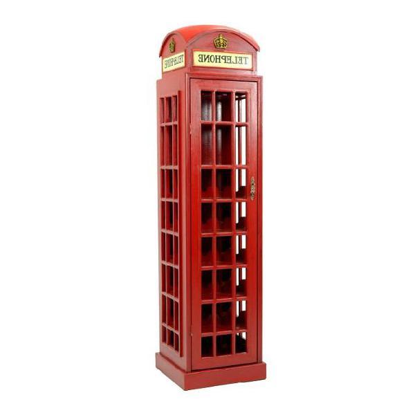 Cantinetta in legno 44x44h171cm adami cabina telefonica