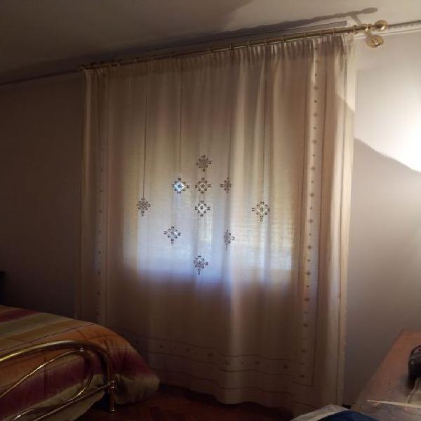 Tenda in lino