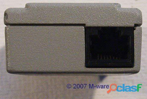 Allied Telesyn AT 210TS centrecom twisted pair micro transceiver 10Base T nuovo 2