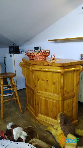Mobile bar legno