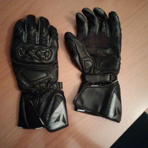 DUCATI Revit strada/'13 Pelle Tessile Guanti Gloves GORE TEX NERO NUOVO