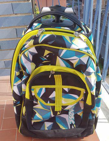 Trolley fit seven wildy boy, blu, 35 lt