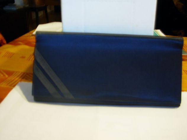 borsa elegante blu