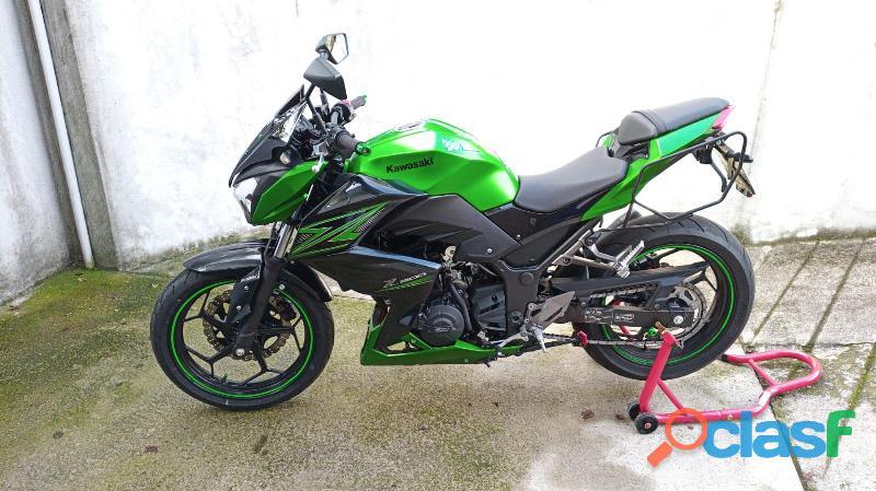 Kawasaki z300 con ABS sett.2015
