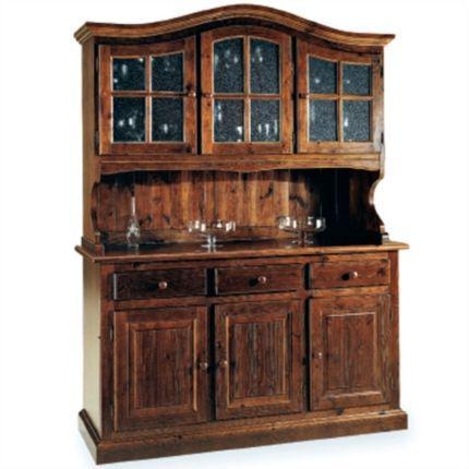 mobili in pino grezzo vintage per abitazioni di montagna b&b