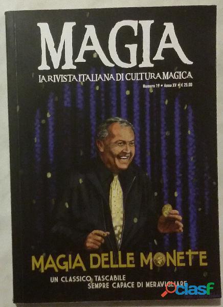 Magia n.19 anno XV   Magia delle monete Ed.Cicap, Padova 2018 nuovo