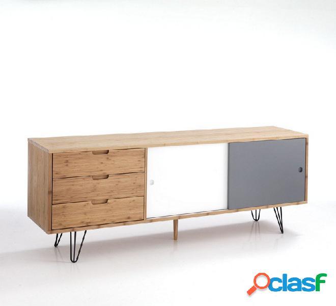 Credenzone buffet ante e cassetti in legno