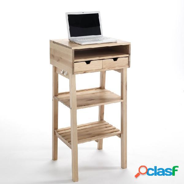 Mobile tavolo alto scrivania per pc in piedi