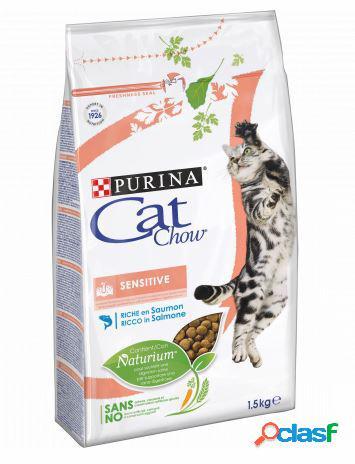 Cat chow sensitive salmone 1,5 kg