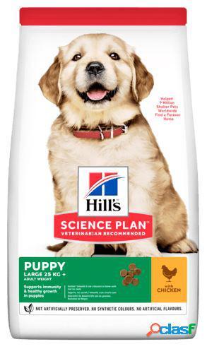 Hill's science plan canine puppy / cuccioli large breed kg 12 pollo