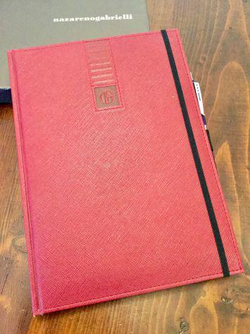 Agenda quaderno gabrielli originale nuova