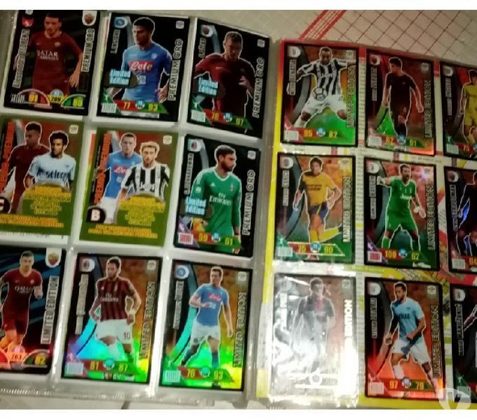 Carte calciatori da 1998 -2019 adrenalyn xl e altre