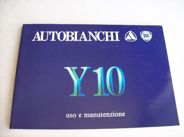 Lancia y10 - libretto uso & manutenzione 25€