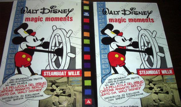 Magic moments - steamboat willie - primo cartone animato