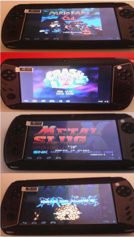 Console nuova android 7 pollici game retrogames