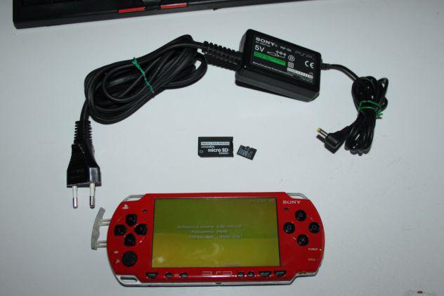 Console portatile sony psp con mod firmware pronta