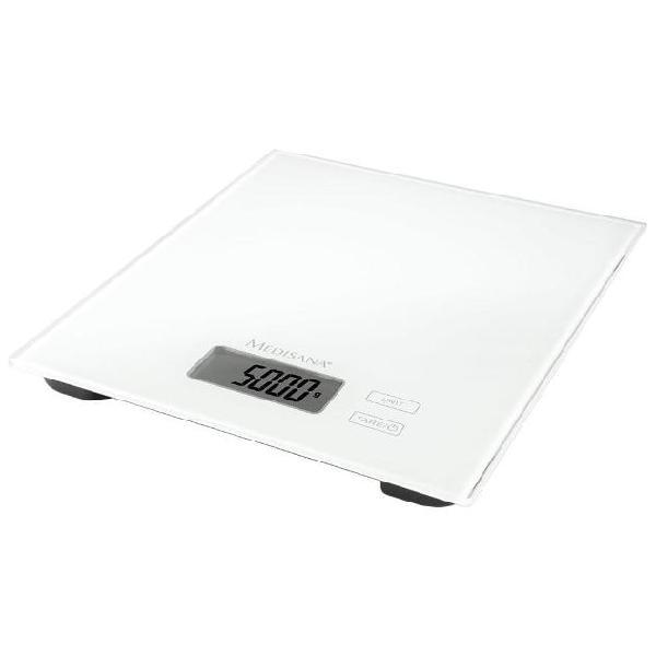 Medisana bilancia digitale da cucina ks 210 vetro 5 kg 40463