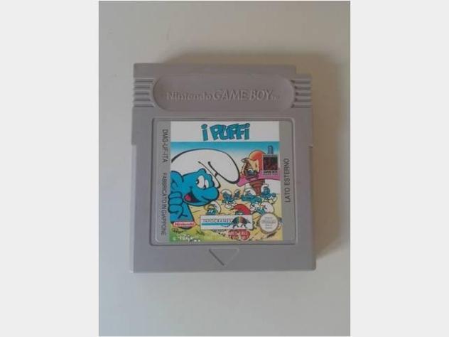 Nintendo gameboy i puffi cartuccia gioco gioco per bimbi