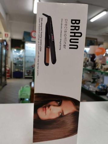 Piastra capelli braun precisionliner nuova