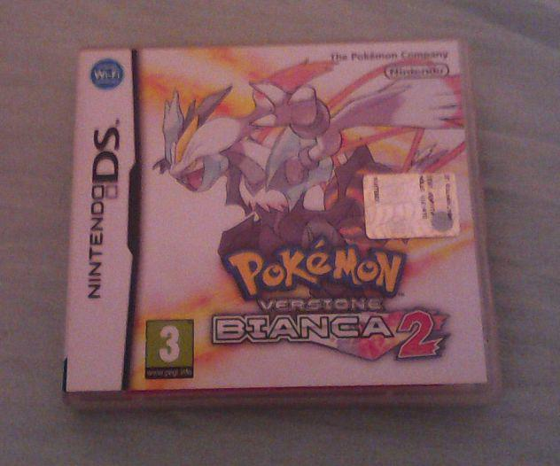 Pokemon bianca 2 originale nintendo ds usato