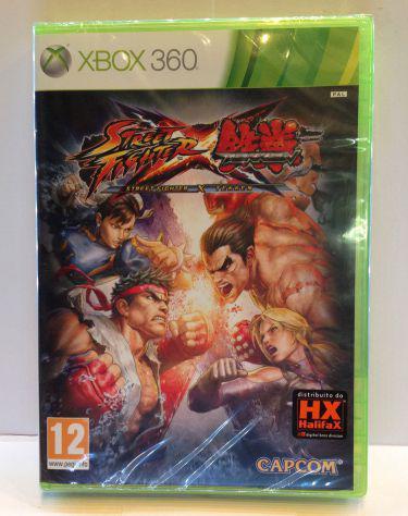 Videogioco street fighter x tekken xbox 360 nuovo
