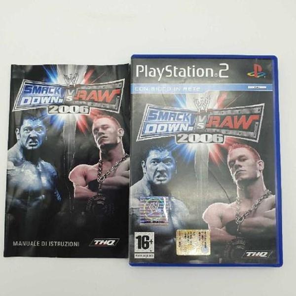 Gioco playstation 2 smack down vs raw 2006