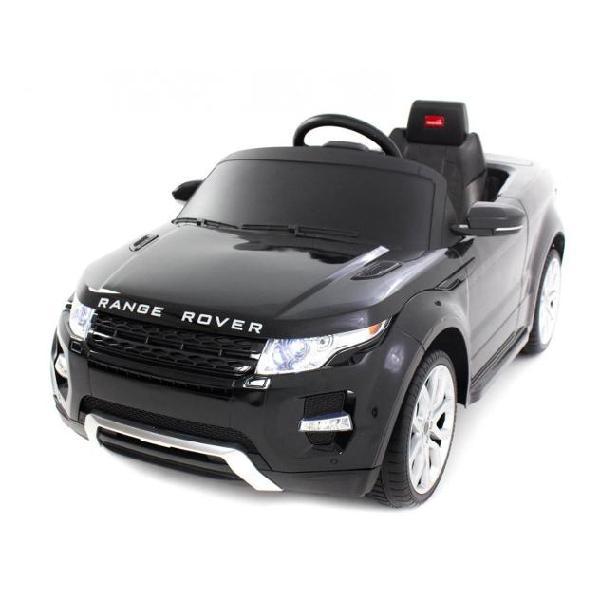 Macchina elettrica per bambini 12v range rover evoque nera