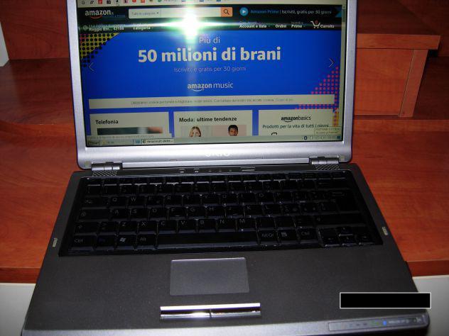 Pc portatile vgn 2 Core ok batt. WiFi Internet Office