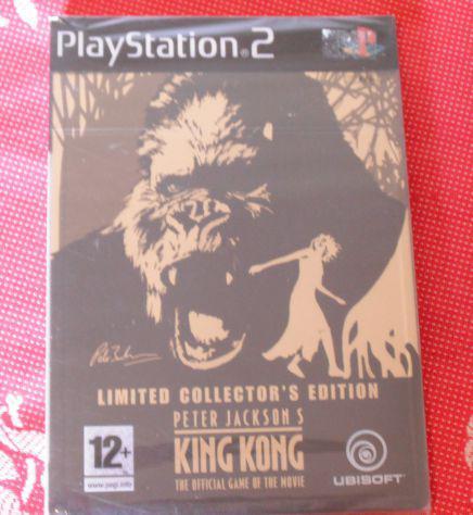 Videogioco king kong ps2 originale limited edition cofanetto
