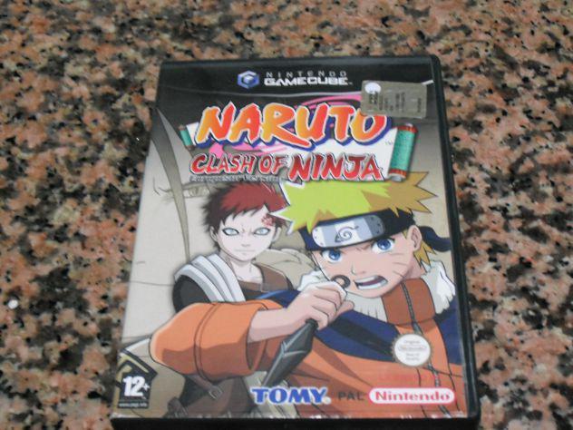 Videogioco naruto clash of ninja game cube originale pal