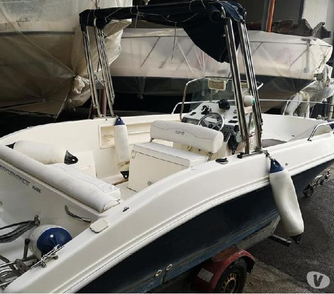 Barca 22 acquamar full open prendisole