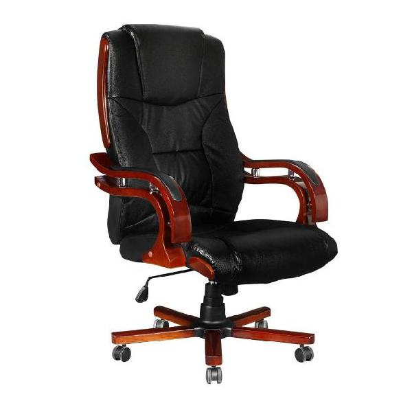 Vidaxl sedia poltrona ufficio girevole direzionale pelle e