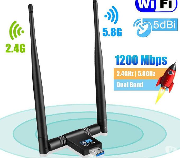 Adapter wireless Maxesla USB 3.0 Wi-Fi alta velocità 5.8