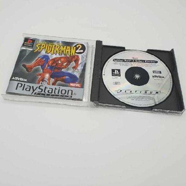 Gioco playstation 1 spiderman 2 enter electro