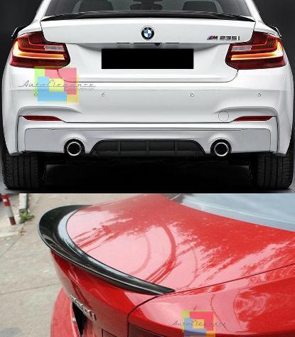 LOOK M2 PER BMW SERIE 2 F22 F23 COUPE CABRIO 2013 SPOILER POSTERIORE SUL COFANO