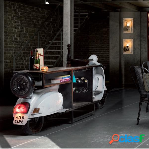 Mobile bar Vespa