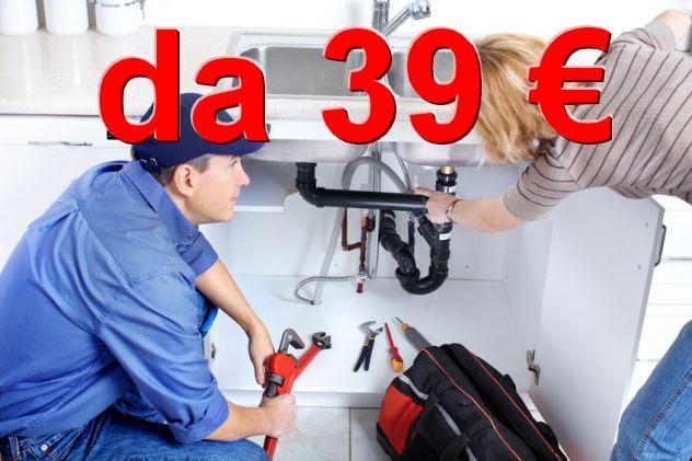 Idraulico genova da 39 €